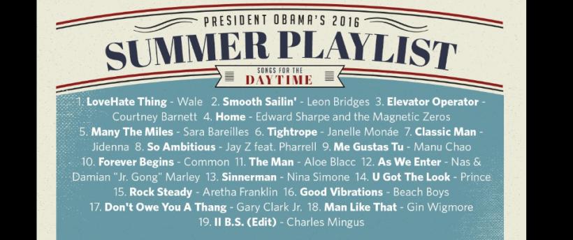obama playlist 1